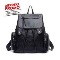 Jual B315 Tas Backpack Ransel Korea Import wanita leather Murah