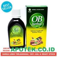 Ob Herbal Sirup Cair 100 ml - Obat Batuk, Sakit Tenggorokan