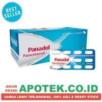 Panadol Biru - Paracetamol - Obat Flu, Sakit Kepala, Sakit Gigi, Demam