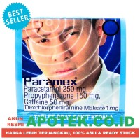 Paramex Tablet - Obat Flu, Demam, Batuk, Pilek, Sakit Kepala