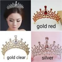 mahkota aksesoris pengantin tiara wedding bridal