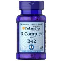 VITAMIN B-COMPLEX B12-180 Tablets USA JANTUNG SARAF SEHAT