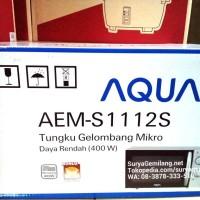 Microwave Sanyo Watt Kecil EMS1112S Asli, Baru, Garansi Resmi