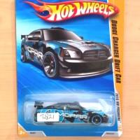 HOT WHEELS DODGE CHARGER DRIFT CAR BLACK PREMIERE 2010 #050/214 - R1