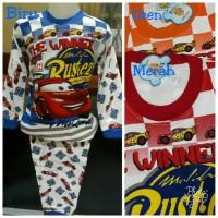 Baju Tidur Anak/Piyama Anak Cars/Setelan Cars