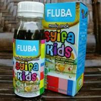 Madu Anak SYIFA KIDS FLUBA Flu Batuk Demam Pilek Hidung Meler