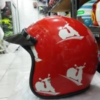 HELM BMC BUDDY SKUTER FIRE RED