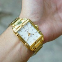 JAM TANGAN ALFA ORIGINAL GD1352 GOLD