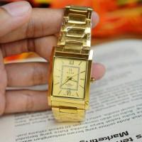 JAM TANGAN ALFA ORIGINAL GD1355 GOLD
