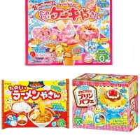 Poppin Cookin By Kracie, popin cookin pudding, ice cream, ramen