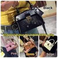 ESQ1613 Tas Import Handbag Textured Skin