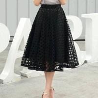 Jual Yoona Flare Skirt (R602)/Rok Midi/Rok Maxi/Rok Panjang Murah