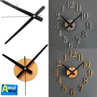 Jam Dinding Customize Diameter 25 cm | DIY Wall Clock