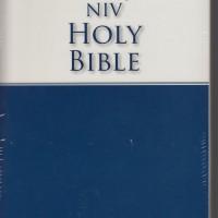 NIV Holy Bible. New International Version. Alkitab Bahasa Inggris