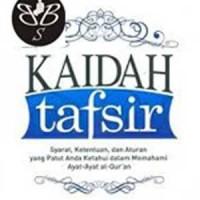 Kaidah Tafsir - Syarat - Ketentuan -leh
