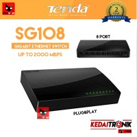 TENDA SG108 GIGABIT Desktop Switch Hub