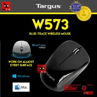 Mouse TARGUS W573 Blue Trace WIreless Wifi Kaca Murah OEM LOGITECH
