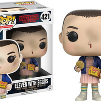 Jual Funko POP! Television - Stranger Things - Eleven with Eggos Murah