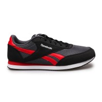 Sepatu Casual Reebok CL Jog 2 Sea Hitam Merah Original Asli Murah