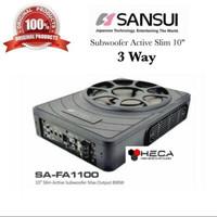 Sansui SA-FA1100 Subwoofer Active Aktif Bass Kolong Underseat SAFA1100