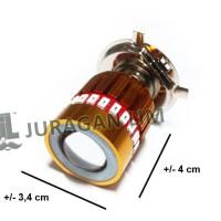 Lampu Headlamp Utama Depan CREE H4 - PROTON + Dual Angel Eyes