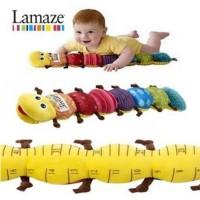 Promo 60Cm Lamaze Worminch Ukuran Panjang Bayi Musical Inchworm Soft
