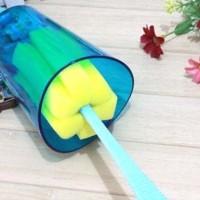 Best Seller Cleaner Sponge / Spons Tongkat Pembersih Botol / Gelas -