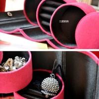 Cuci Gudang Kotak Perhiasan Mini / Tempat Perhiasan Travel Fts006