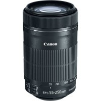 Lensa Tele Zoom Kamera Canon EF-S 55-250mm f/4-5.6 IS STM 55-250 mm