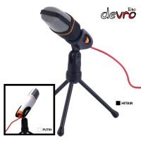 Mikrofon Microphone Kondenser Studio dengan Stand - SF666 - Hitam