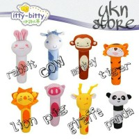 rattle stick / boneka bayi / boneka bunyi / mainan bayi