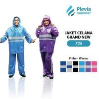 Jas Hujan Jaket Celana Plevia GRAND 725 Motor setelan rain coat wear
