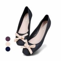 jelly shoes ribbon flat Melissa Cleo 1705