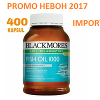 Jual READY STOCK - Blackmores fish oil 1000mg 400 capsules - IMPORTED Murah