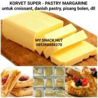 harga Korsvet Super - Korvet - Pastry Margarin - Danish Pastry - Puff Pastry Tokopedia.com