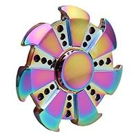 Jual Fidget Spinner besi Rainbow Murah