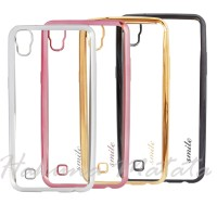 Soft Case Ultrathin Chrome for Asus Zenfone 4 Selfie 5.5 inch ZD553KL