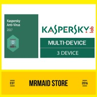 Kaspersky Antivirus 2017 / KAV 2017 3 PC