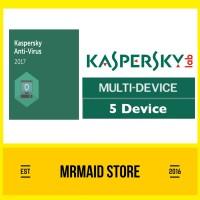 Kaspersky Antivirus 2017 / KAV 2017 5 PC