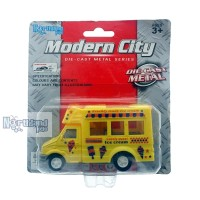 Ice Cream Food Truck Modern City | Die Cast Metal Alloy | 6822