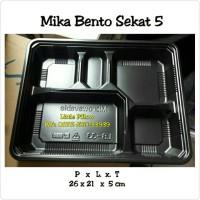 Mika Bento 5 Sekat/Box Bento/Lunch Box/Tempat Makanan/Food Container