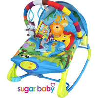 Jual Bouncer Bayi SugarBaby Premium Rocker 10 in 1 - Rainbow Forest Murah