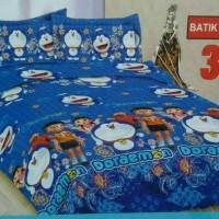 Jual Sprei Bonita Uk. 180 x 200 Motif Batik Doraemon Murah