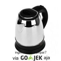 Jual Teko listrik/ pemanas air/ kettle electric Fleco kapasitas 1.5L Murah