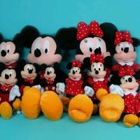 Jual Boneka Mickey & Minnie Mouse 10 boneka Murah