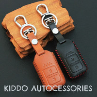 Key Cover/sarung kunci kulit leather Honda HRV, New Jazz, all new City