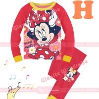 Harga sgw13 h baju tidur anak piyama anak cewe import minnie | Pembandingharga.com