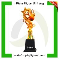 Piala/Trophy Figur Bintang Kecil