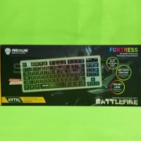 Harga Keyboard Gaming Rexus K9TKL K9 TKL Backlit Fortress Battlefire | WIKIPRICE INDONESIA