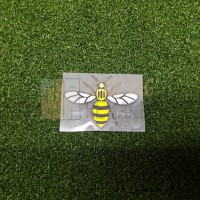 PATCH WORKER BEE MANCHESTER UNITED & MANCHESTER CITY 2017